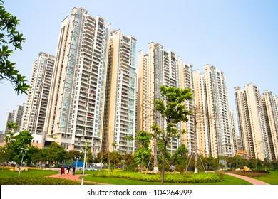 Modern Chinese residential,Guangzhou China