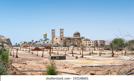 Modern Churches at the Baptised Site, Jordan.