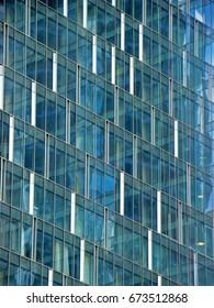 Modern city architecture detail in summer
