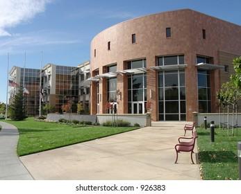 Modern City Hall, City of West Sacramento, California