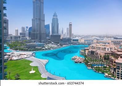 Modern city landscape