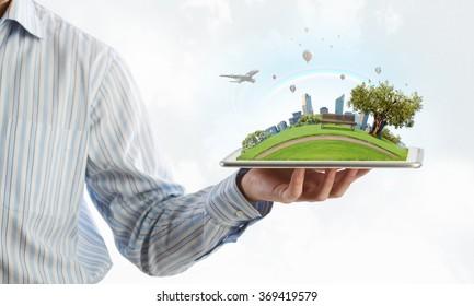 Modern city model