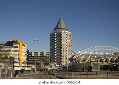 modern city in the Netherlands