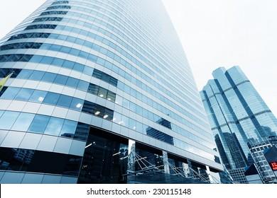 modern city office building exterior