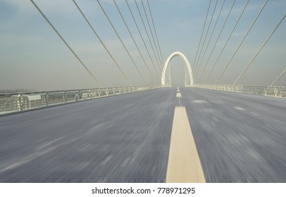 modern city road and bridge