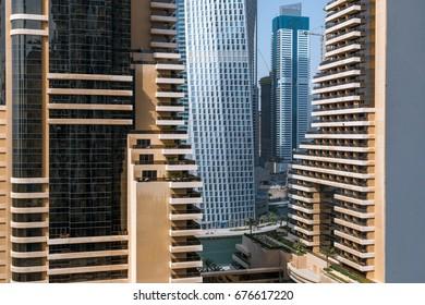 Modern city view