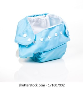 A modern cloth nappy