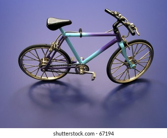 Modern Color 3 speed Bicycle Shadow