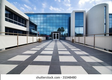 Modern commercial building facility