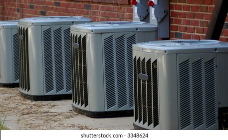 Modern commercial cooling units