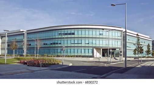 modern commercial office in Swansea