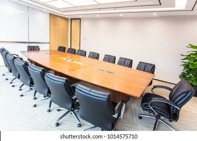 Modern company conference room