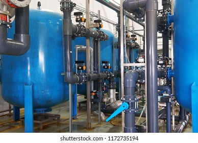 Modern complex of cleaning, disinfecting and preparation of drinking water