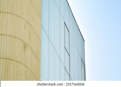 Modern corporate architecture - business and success concept