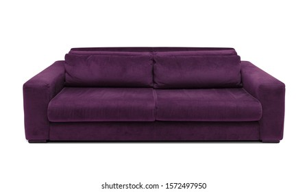 Purple Sofa Isolated Images, Stock Photos & Vectors ...