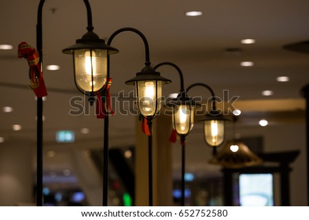 Modern Decorative Lamps Decorated Home Decor.