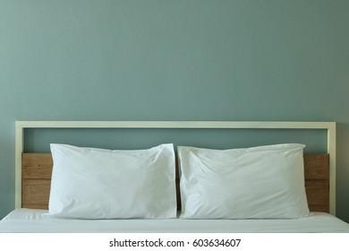 Modern design bedroom interior