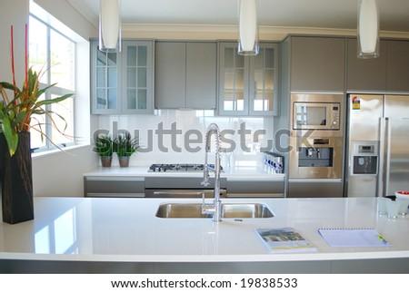 Modern Designer Kitchen Stock Photo Edit Now 48 Shutterstock Best Modern Designer Kitchen