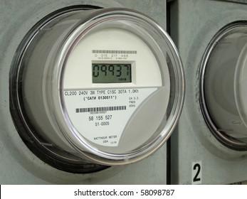 Modern digital  electric meter