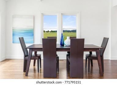 Modern Dining table set.