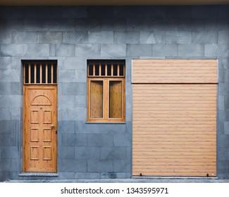 modern door, window and roller shutter garage doors