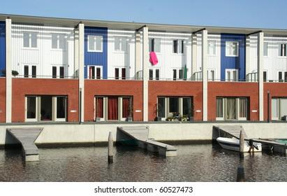 Modern dutch housing architecture