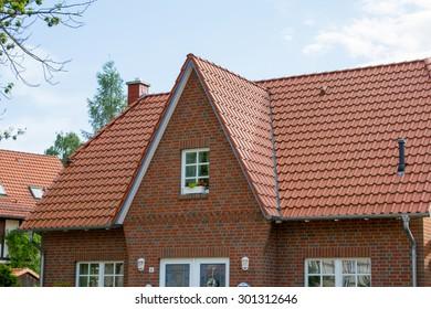 Modern dwelling house in Germany