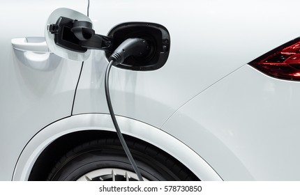 Modern electrical plugs for recharging to the electric vehicles.
