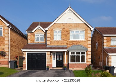 Modern english detached house with garage