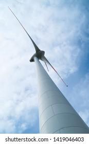 modern environmentally friendly wind turbine