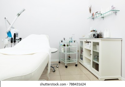 modern equipment in beauty salon