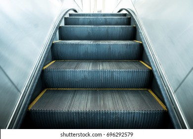 Modern escalator electronic system moving vintage filter
