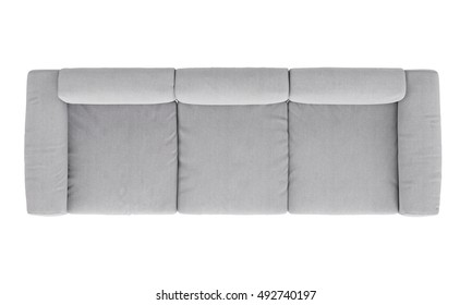 sofa chair top view. Interesting Top Modern Fabric Sofa Isolated On White Background  Top View Throughout Sofa Chair Top View Shutterstock