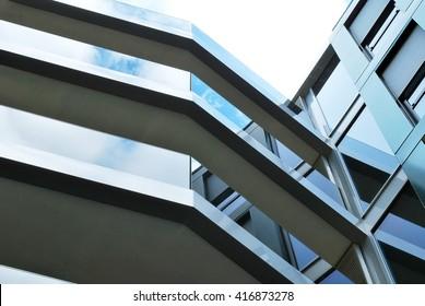 Modern facade