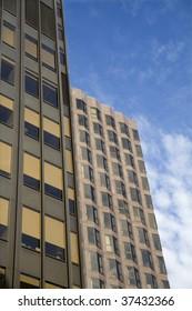 modern facade from london
