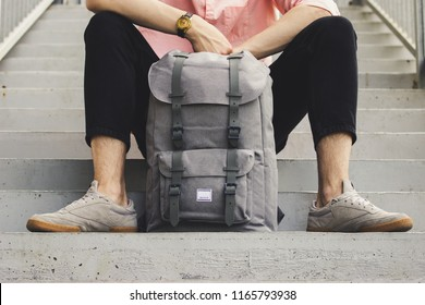 A modern and fashionable backpacks