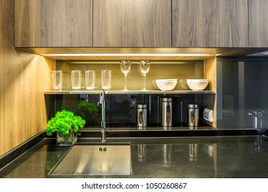 Phenomenal Kitchen Cabinet Abstract Stock Photos Images Photography Download Free Architecture Designs Jebrpmadebymaigaardcom