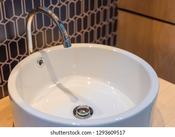 Modern faucet with wash basin sink interior contemporary