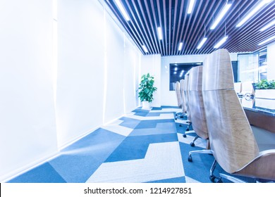 Modern furnished conference room beautifully designed