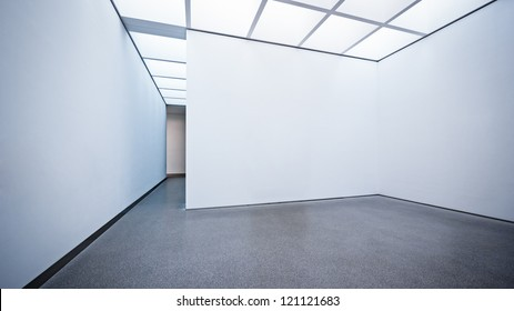modern gallery in berlin - nice background with copy space