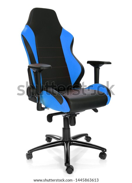 Fantastic Modern Gaming Chair White Background Stock Photo Edit Now Forskolin Free Trial Chair Design Images Forskolin Free Trialorg