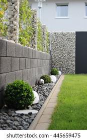 modern garden of the house - Modern Garden