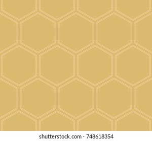 Modern geometric seamless pattern. For design, page fill, wallpaper.   illustration