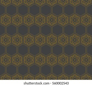 Modern Geometry ornament. Seamless raster copy illustration. Decorative texture for design wallpaper, web page, banner, flyer.