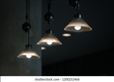 Modern glass ceiling lamp interior lighting bulbs decoration contemporary