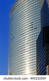 Modern Goldman Sachs Office Building in Lower Manhattan.