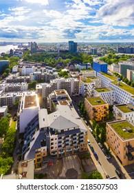 Modern green city