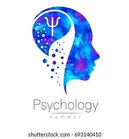Psychology icon images stock photos vectors shutterstock modern head sign of psychology profile human letter psi creative style symbol thecheapjerseys Choice Image