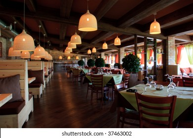 Modern High Class Luxury restaurant and cafe  interior