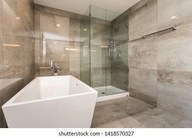 Modern Home Interior Wash Room
